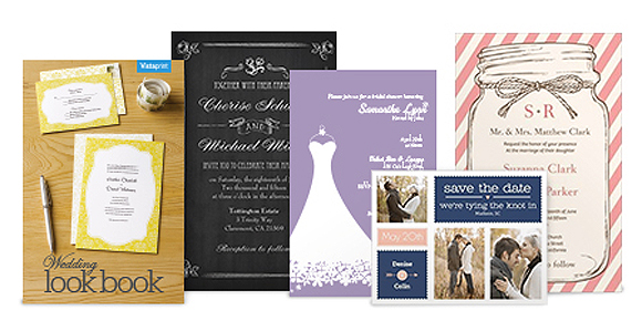 from invitations to favors vistaprint offers the full wedding
